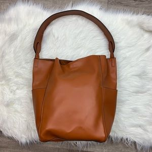 Urban Outfitters | Brown Faux Leather Bag